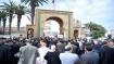 احتجاجات على وزارة العدل التي  تنكرت لبوابتها الالكترونية